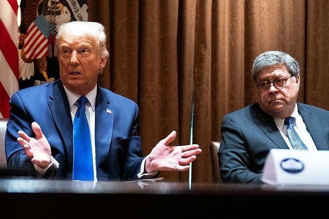 Trump ruft Justizminister zu Korruptionsermittlungen gegen Biden auf
