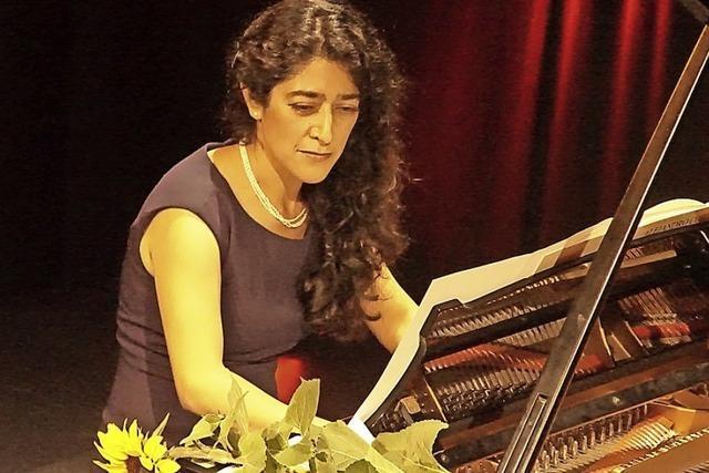 Claudia Corona begeistert mit musikalischem Bankett