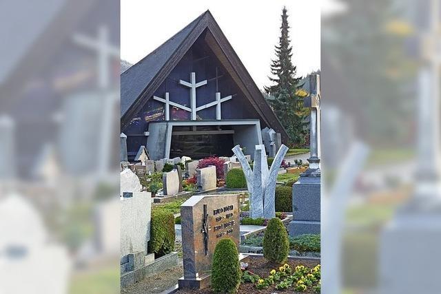 Bestattungen in Schönau nur unter Auflagen