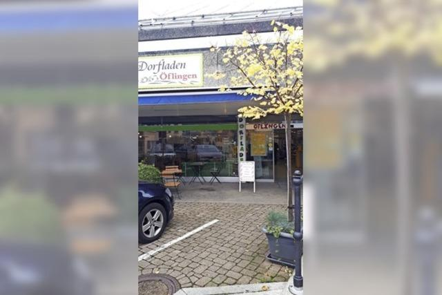 Dorfladen ist aus dem Gröbsten raus