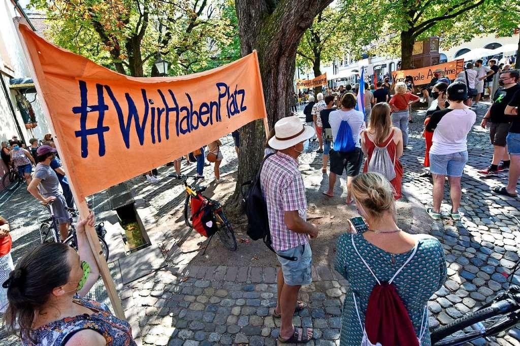 Freiburg nimmt bis zu 50 Geflüchtete aus Griechenland auf - Freiburg - Badische Zeitung