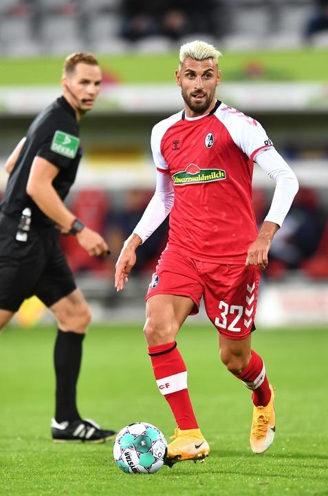 Grifo, hier im Match gegen Wolfsburg.  | Foto: Achim Keller/SC Freiburg