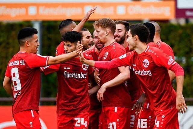 Ein wilder Ritt bringt dem Bahlinger SC den vierten Saisonsieg