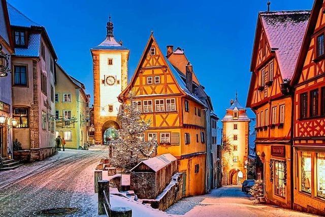 Genießen Sie den Winterzauber in Mainfranken