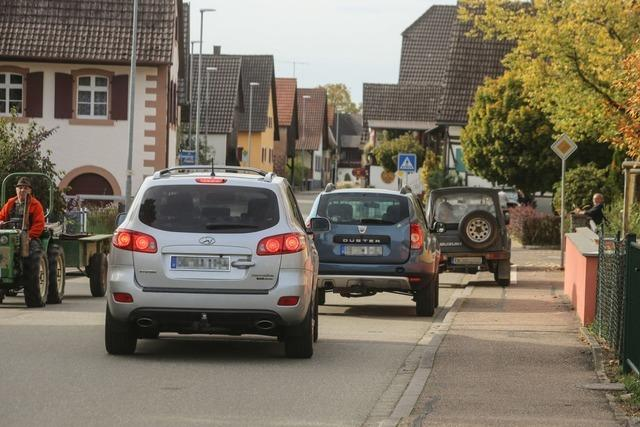 Der geplante Radweg bei Münchweier wird Streitpunkt