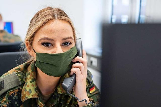 Gesundheitsämter ringen um Personal - Bundeswehr springt ein
