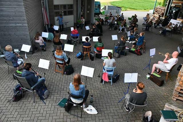 So kreativ proben Musikvereine im Landkreis Emmendingen