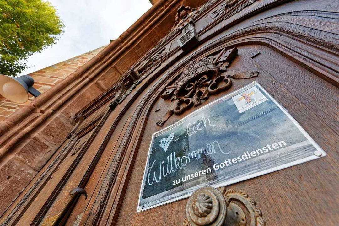 """""""Willkommen zu unseren Gottesdie...t Online-Gottesdienste geboten werden.    Foto: Martin Wendel"""