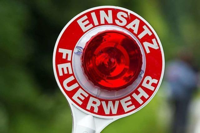 14-Jähriger verletzt sich in Waldkirch beim Versuch ein Feuer zu löschen