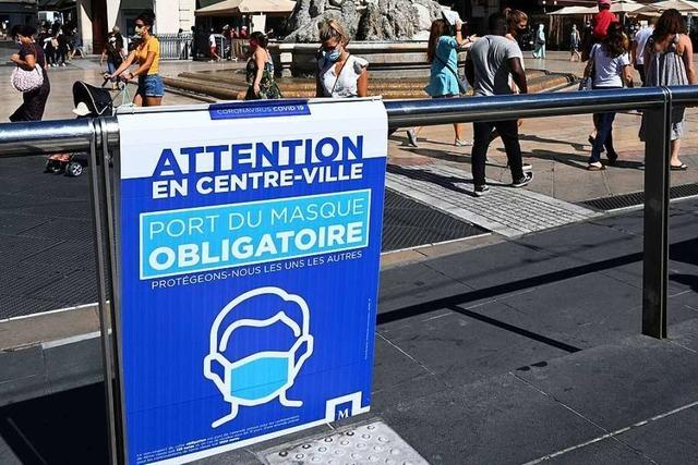 Straßburger Präfektin empfiehlt, auch bei privaten Treffen Maske zu tragen