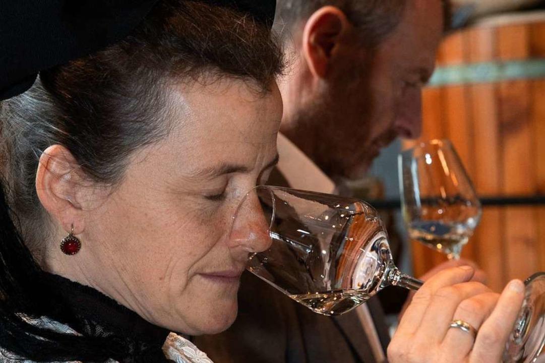 Weintradition wird unter anderem beim ...na-Pandemie nicht stattfinden konnte.   | Foto: Volker Münch