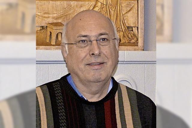 Pfarrer Martin Schlick ist da