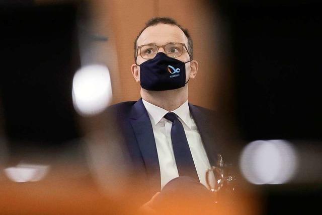 Bundesgesundheitsminister Jens Spahn positiv auf das Coronavirus getestet