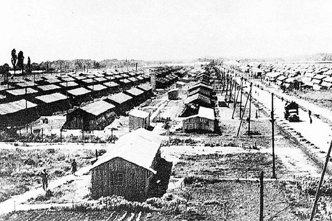 Das KZ in einer historischen Aufnahme  | Foto: BZ