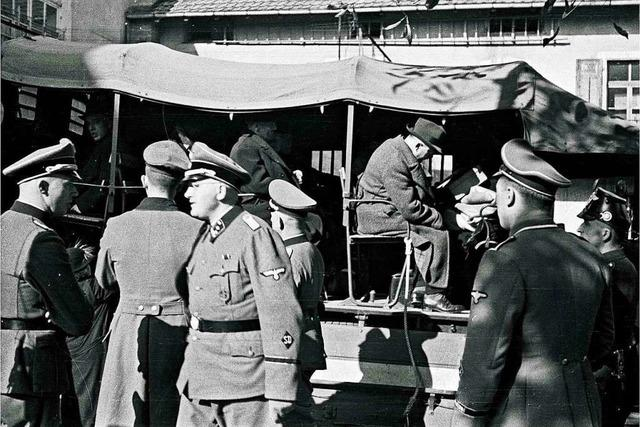 Vom Marktplatz ging es für die Lörracher Juden in Leid und Tod