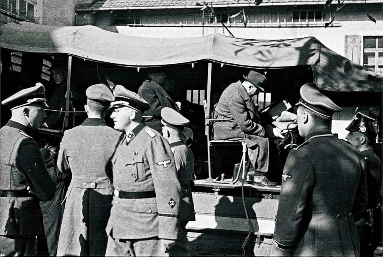 Deportation der Lörracher Juden  | Foto: Stadtarchiv Lörrach