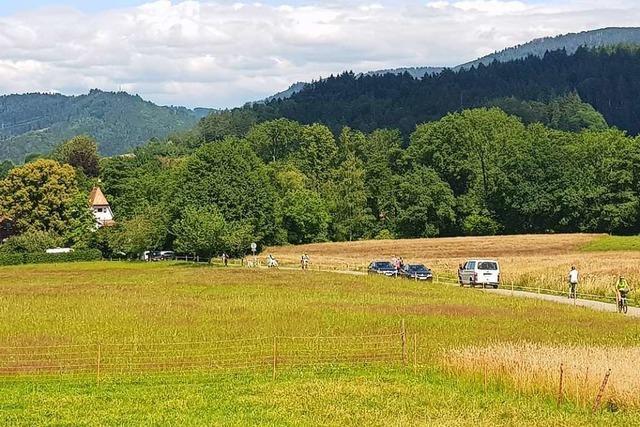 Anwohner in Dietenbach kritisieren schmale Zufahrt zum Kindergarten auf Ruhbauernhof