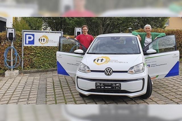 Sozialstation dank Auto-Spende noch elektrischer unterwegs