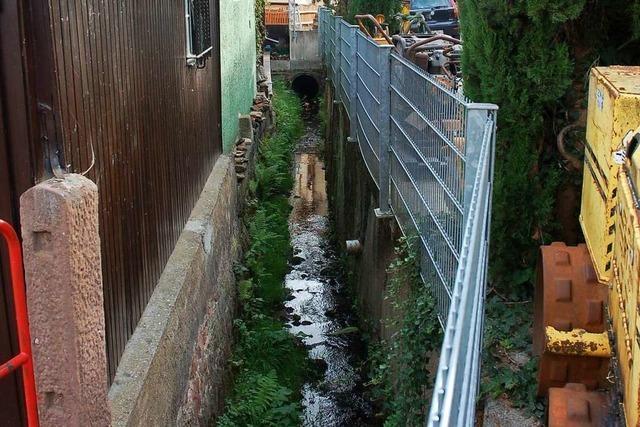 Neue Ortsmitte in Lahr-Kuhbach könnte der Hochwassergefahr zum Opfer fallen
