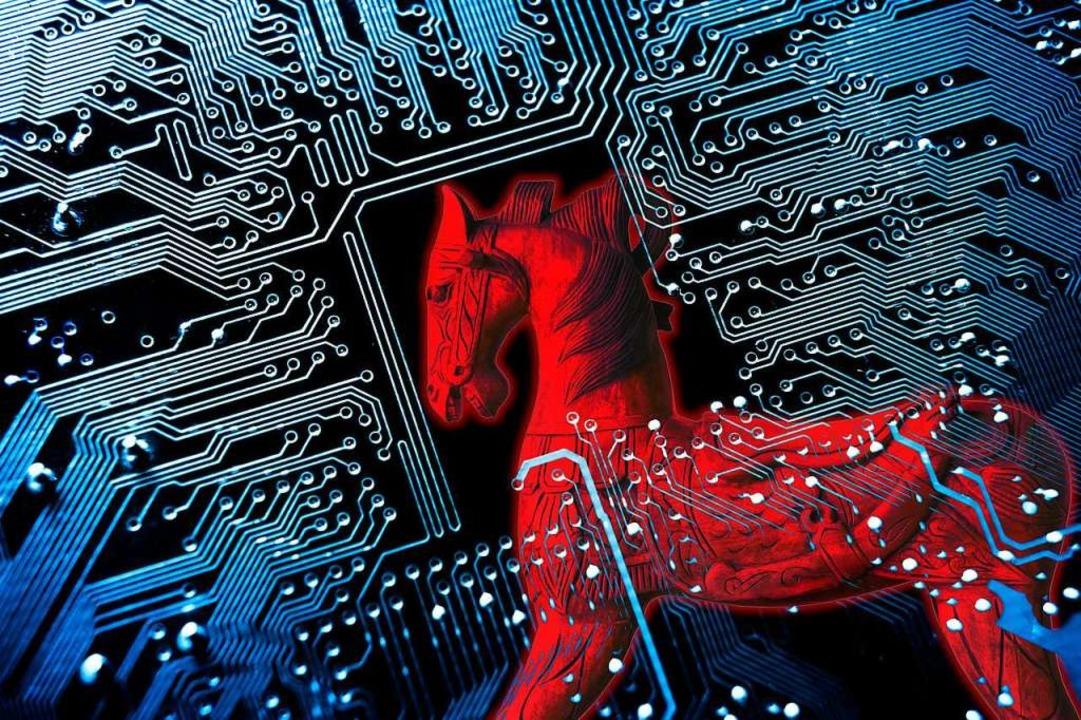 Mit Spähsoftware, sogenannten Trojaner..., die von einem Handy gesendet werden.  | Foto: weerapat1003  (stock.adobe.com)