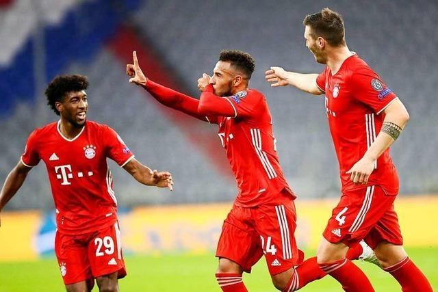 FC Bayern München schlägt Atlético Madrid mit 4:0