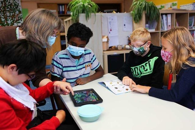 Schüler mit und ohne Behinderung lernen in Friesenheim aneinander