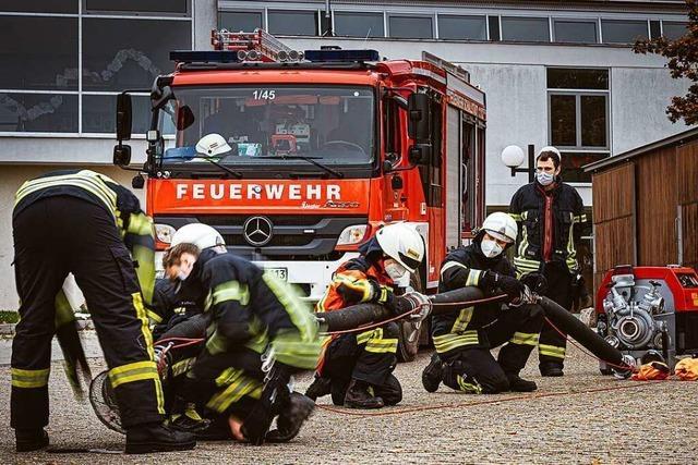 Feuerwehr in Schallstadt bildet wieder neue Mitglieder aus