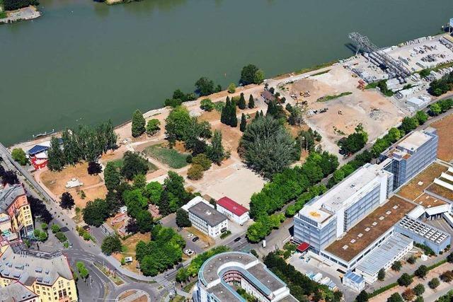 Der Weiler Rheinpark muss abgespeckt werden