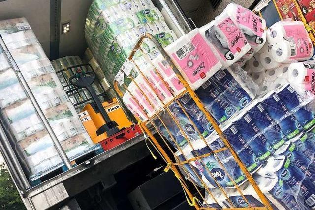 Deutlich steigende Nachfrage nach Toilettenpapier und Seife