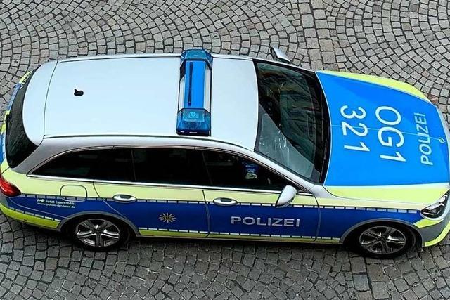 Großer Polizeieinsatz nach Beziehungsstreit in Offenburg