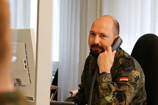 15 weitere Soldaten sollen im Gesundheitsamt in Freiburg helfen