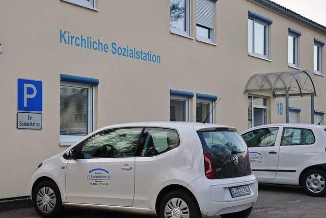 Beate Fuchs gibt Leitung der Sozialstation Südliches Markgräflerland ab