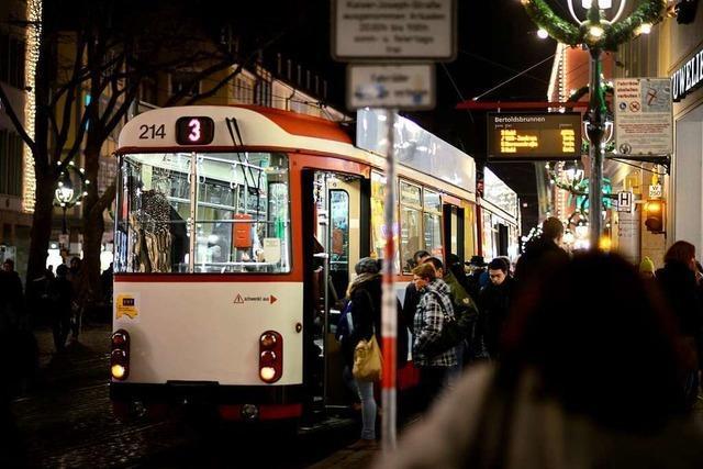 Freiburger VAG stellt Nachtverkehr am Wochenende bis auf Weiteres ein