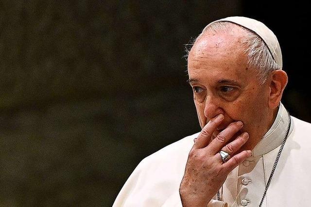 Wie der Papst mit zwei Skandal-Kardinälen abrechnete