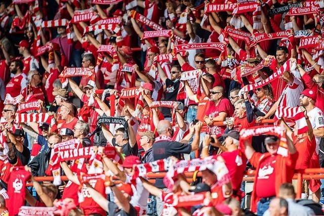 4500 Fans dürfen zum Spiel des SC Freiburg bei Union Berlin