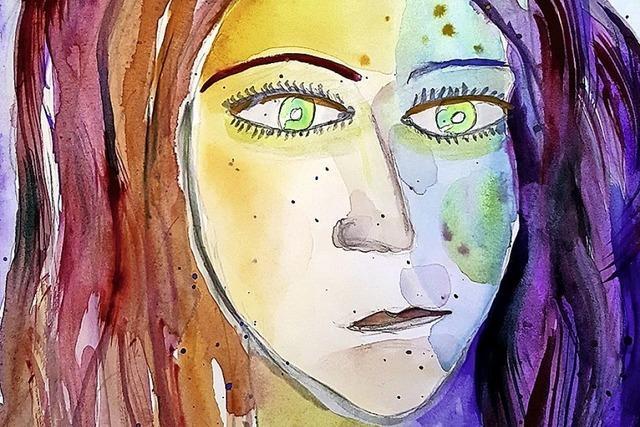 In der Volkshochschule sind Werke von Behar Heinemann zu sehen