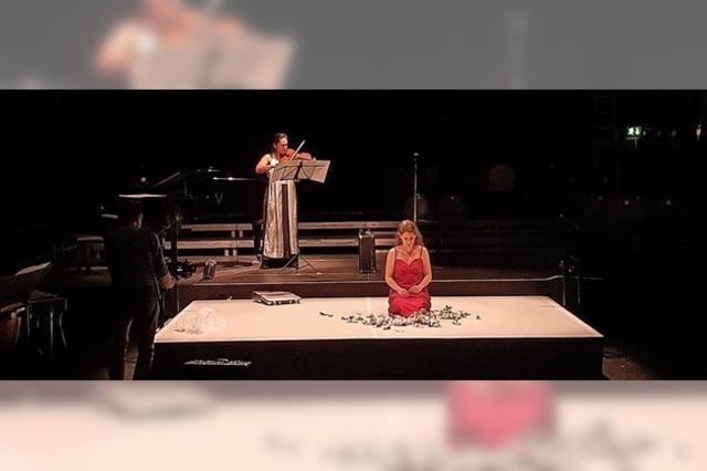 Narcissus & Echo ist das aktuelle Stück der Opera Factory Freiburg