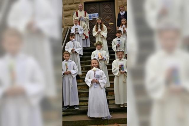 Erstkommunionfeier in Schliengen