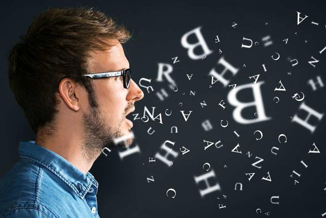 Stottern ist eine Störung des Redeflus...che Therapien abgemildert werden kann.  | Foto: lassedesignen  (stock.adobe.com)