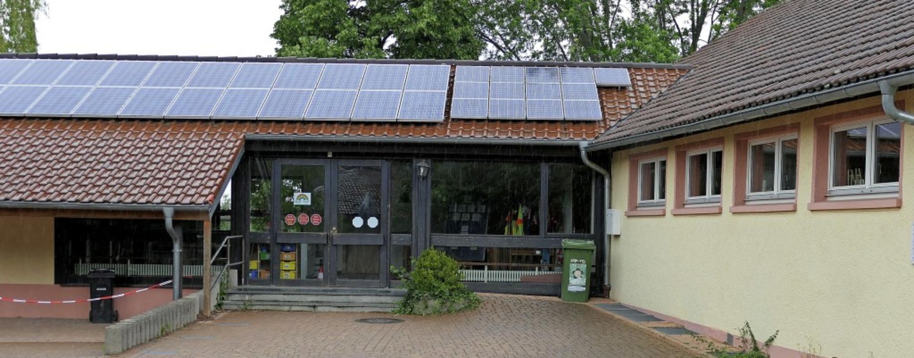 Im Mittelpunkt des neuen Maßnahmenpake...8211; energetisch saniert werden soll.  | Foto: Hans-Peter Müller