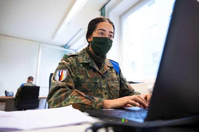 Bundeswehr hilft im Kreis Lörrach bei der Kontaktverfolgung