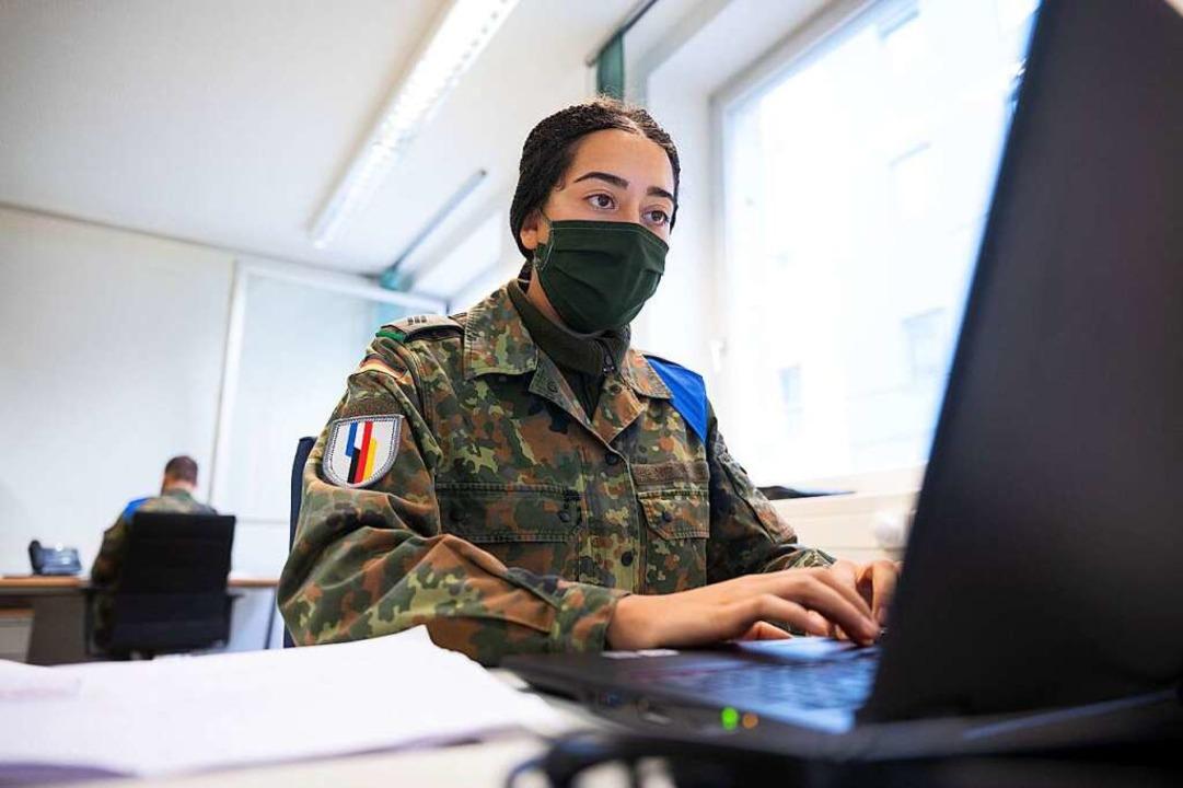 Bundeswehr hilft im Kreis Lörrach bei der