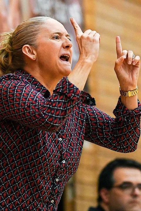Cheftrainerin Isabel Fernandez  | Foto: Patrick Seeger