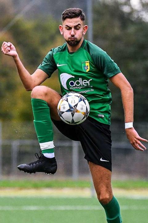 """Ich will den maximalen Erfolg&#...hat nach neun Spielen 16 Scorerpunkte.    Foto: Gerd Gruendl"