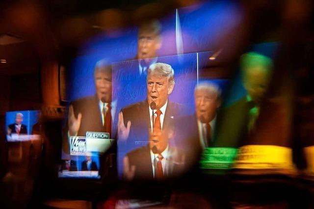 Das TV-Duell von Trump und Biden ging am Ende wohl unentschieden aus