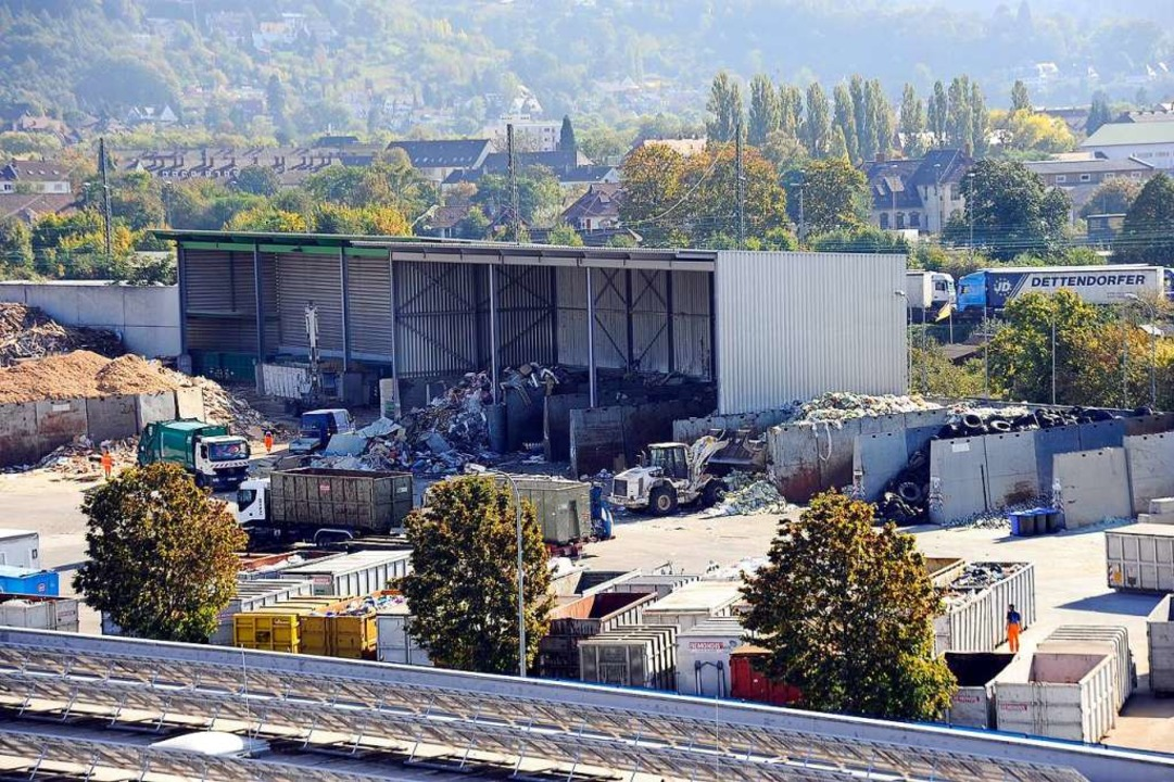 Blick auf das Gelände des Müllentsorgers Remondis (Archivbild)  | Foto: Ingo Schneider