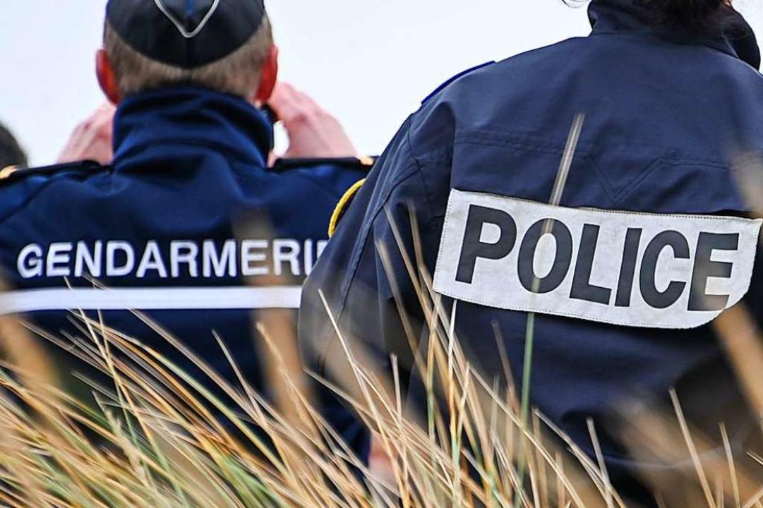 Einsatzkräfte der französischen Polizei  | Foto: DENIS CHARLET (AFP)