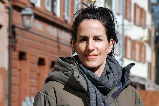 Die City-Managerin aus Rheinfelden/Schweiz ist auf dem Absprung