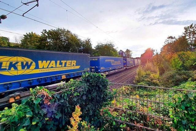 Für die Zugtrasse nach Basel wird bei Schallstadt 275-mal gebohrt