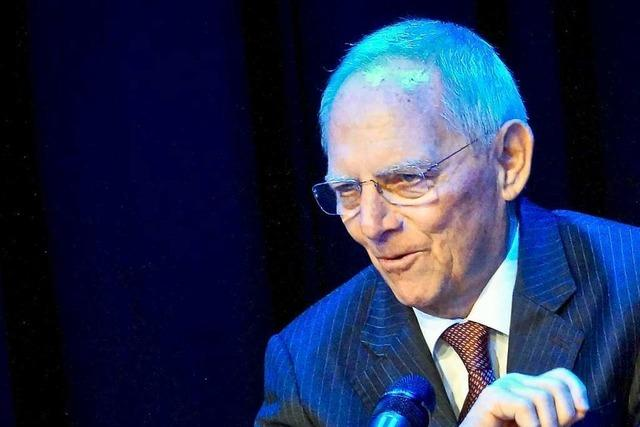Wolfgang Schäuble ist wieder Kandidat für die Bundestagswahl